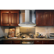 Range Hood Convertible Wall Mount 30 Stainless Steel With Mesh Filters Kitchen