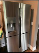 Samsung Rf260beaesr Stainless Steel 25 5 Cu Ft French Door Refrigerator