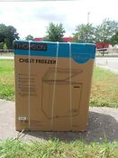 N I B Thomson Chest Freezer 5 0 Cubic Ft Brand New In Box