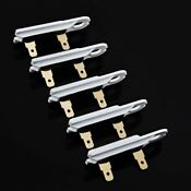 5 Pcs For Whirlpool Kenmore Dryer Thermal Fuse Replacement Part3392519