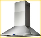 Stainless Steel Evr636ss Elica Varna Wall Mount Chimney Range Hood 36 Inch 2430