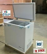 New Solid Top Chest Freezer Storage Cabinet Nsf 5 Cu Ft Free Home Delivery