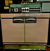 Vintage Classic 50s Pink Imperial Frigidaire General Motors Electric Stove