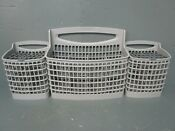 Frigidaire Dishwasher Silverware Basket Assembly Gray 154424001 5304521739 Asmn