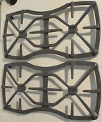 Set Of 2 Ge Profile Spectra Range Oven Xl44 Stove Top Grates