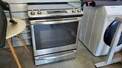 Js760slss 30 Slide In Range With 5 3 Cu Ft Capacity In Stainless Steel