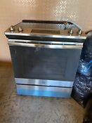 Ge Smooth Surface 4 Element 5 3 Cu Ft Self Cleaning Oven