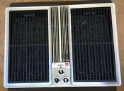 Jenn Air Stainless 30 Electric Downdraft Drop In Grill Griddle Rare Vtg 70s