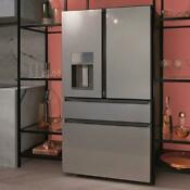 Cafe Modern Glass Collection Cve28dm5ns5 36 Smart 4door Frenchdoor Refrigerator