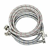 Tomoon Washing Machine Hoses 6 Ft With 90 Degree Elbows Braided Stainless S