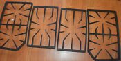 Thermador 45 Model Sgs456 Cast Iron Stove Grates 4 Pieces