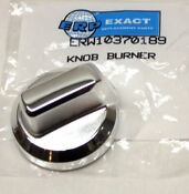 W10370189 For Whirlpool Maytag Gas Burner Knob Stainless Ap5306905 Ps3501949