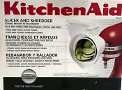 Kitchenaid Slicer Shredder Attachment For Stand Mixer Rvsa New Rotor