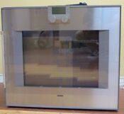 Gaggenau 200 Series Bo280611 30 Inch Single Electric Wall Oven