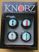 Knobz Lighthouse Electric Stove Knobs Set Of 4 New