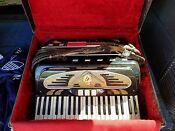 1960 Accordion Made In New York Antique 650