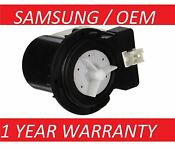 Oem Samsung New Washer Drain Pump Dc3100016a Dc31 00054a 62902090 Dc31 00016a