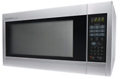 Stainless Steel Microwave Oven Large Countertop Microwaves Kitchen 2 2 Cu Ft