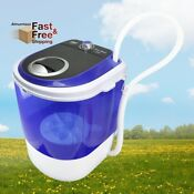 New Pyle Portable Mini Washer Top Loader Laundry Quiet Washing Machine 4 5 Lbs