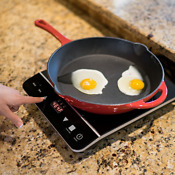 Induxpert Portable Induction Cooktop 1800w With Power Temperature And Timer Set