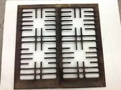 Vintage Stove Parts Old 30 S 40 S Antique Classic Gas Range Burner Grate Set