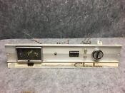 Vintage Chambers Built In Gas Oven Model 0 8 Control Panel W Clock Untested