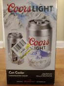 Koolatron Coors Light Mini Compact Refrigerator Fridge 8 12 Oz Beer Cans 12v