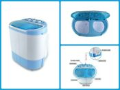 Portable Washing Machine Spin Dryer Electric Twin Tub Camping Apartments College