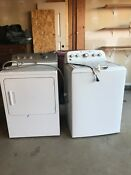 2015 Ge Appliances Washer And Dryer Set White Great Condition