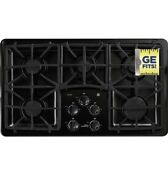Black Ge Profile Pgp966detbb Gas Cooktop With 5 Burners