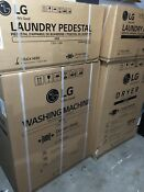 Lg Twinwash Wm8100hva Washer Dryer Dlex8100v Pedestals Wdp5d 3 376 92 Puonly