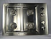 Jenn Air Model Jgc1430ads 30 Gas Stainless Steel Cooktop