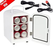 4l Portable Mini Fridge Cooler Warmer Auto Car Boat Home Office Ac