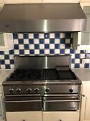 Thermador 48 Pro Stainless Range Top 4 Grill N Griddle Plus Viking Hood