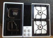 Jenn Air Gas Cooktop And Grill