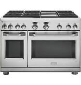 Ge Monogram Zdp486ndpss 48 Dual Fuel Range With 6 Burners And Griddle