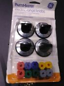 Ge Parts Master Electric Range Knobs New Open Box