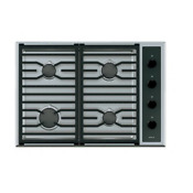 Wolf Cg304t S 30 Inch Transitional Natural Gas Cooktop In Stainless Steel Ss