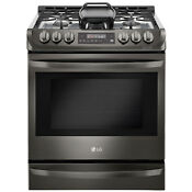 Lg Lg Lsg4513bd 6 3 Cu Ft Gas Slide In Range W Probake Convection8482 E