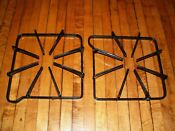 Maytag Gas Range Stove Burner Grate 74001059 7518p464 60 Set Of 2