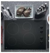 Ge Jp3030djbb 30 Black Electric Smoothtop Cooktop Cook Top Range Flat Glass