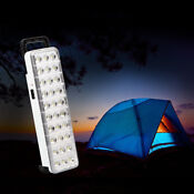 Rechargeable Camping Tent Light Outdoor Hiking Emergency Led Flashlight Lamp