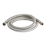 Refregerator Stainless Braided Ice Maker Supply Line 1 4 Comp X 1 4 Comp X 60