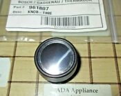 New Thermador Oem Oven Timer Knob Ss 14 37 391 06 411367 00411367 961807