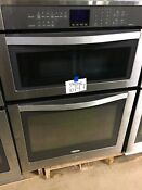 Whirlpool Woc95ec0as Stainless Steel 30 Double Wall Convection Oven 6147