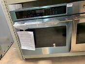 Ge Monogram Zet9050shss 30 Electric Convection Single Wall Oven Stainless 290q