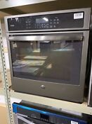 Ge Pk7000ejes 27 Slate Electric Single Wall Oven 460q