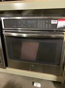 Ge Pt9050sfss 30 Single Wall Oven Stainless Steel 093q