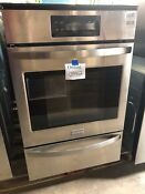 Frigidaire Ffgw2425qs 24 Built In Single Gas Wall Oven Stainless Steel 0942