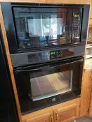 Kenmore 30 Electric Black Microwave Wall Oven Combination
